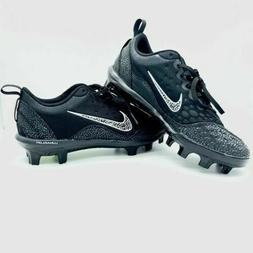 NEW Nike Lunar Hyperdiamond Women Size 9 Softball Cleats Bla