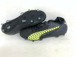 NEW! Puma Men'a Future Lace Up Soccer Cleats Black/Yellow #1