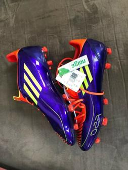 New Men's Adidas  F30 TRX FG soccer cleats Purple Size 11.5