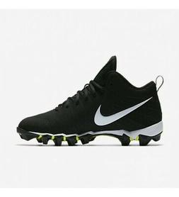 New Mens Nike Alpha Menace Shark Football Cleats Black/White