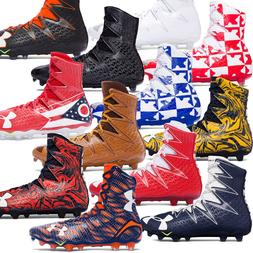 New UNDER ARMOUR Mens UA Highlight MC High Top Football Clea