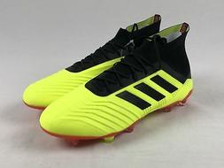 NEW adidas Predator 18.1 FG - Yellow/Black Cleats