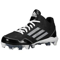 NEW Adidas Wheelhouse 2 Mid Baseball Cleats Black/White/Camo