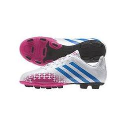 New Adidas Women's Predito TRX FG Soccer Cleats White Pink a