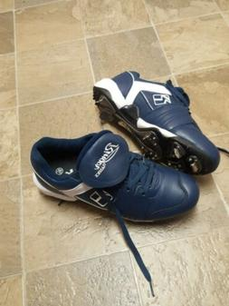 NEW Ringor Women's Softball Cleats - Blue - Size 9