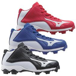NEW Youth Mizuno Baseball Cleats 9 Spike Franchise 8 Mid-Cho