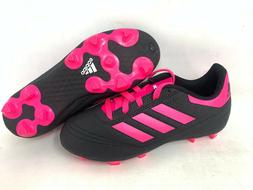 NEW! Adidas Youth Girl's Goletto VI FG Soccer Cleats Black/H