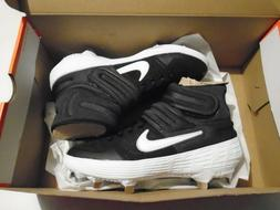 NIB Nike Alpha Huarache Elite 2 Mid Men's Baseball Cleats Bl