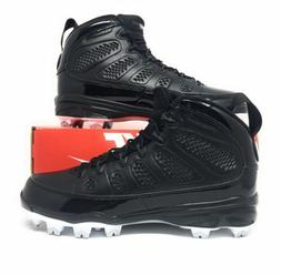 Nike Air Jordan 9 IX Retro MCS Mens Baseball Cleats Black Wh