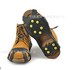 Pair of Anti-slip Snow Ice Shoe Boot Cleats Crampon Traction