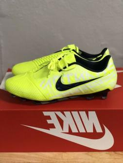 "Nike Phantom Venom Elite FG Soccer Cleats ""VOLT"" AO7540-"