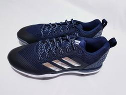 Adidas PowerAlley 5 Size 9 Baseball Cleats Low B39183 Navy B