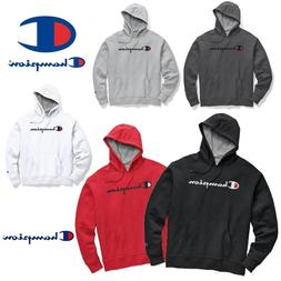 Champion Powerblend Men's Pullover Hoodies Script Logo GF89H