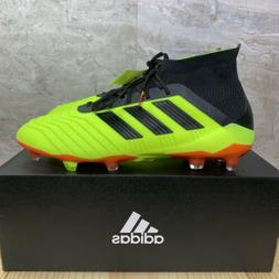 Adidas Predator 18.1 FG Size 12 Mens Black Red Solar Yellow