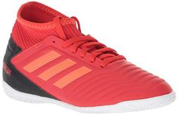 adidas Unisex Predator 19.3 Indoor, Active Solar red/Black,