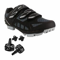 Zol Predator MTB Mountain Bike and Indoor Cycling Shoes Peda