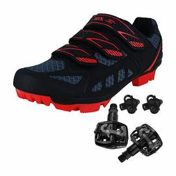 Zol Predator MTB Mountain Bike and Indoor Cycling Shoes with