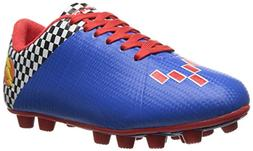 Vizari Prix Soccer Cleat , Blue/Red, 10 M US Toddler
