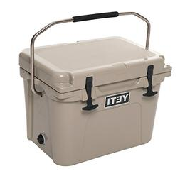 Yeti 10020010000 20-Quart Desert Tan ColdLock Roadie 20 Ice