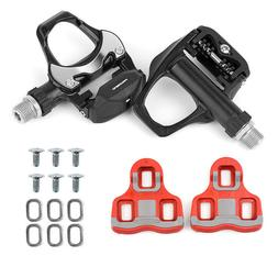 Promend Road Cycling Bike Clipless Pedals with LOOK Cleats C