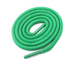 """Round Shoelaces 3/16"""" Thick Solid Colors for All Shoe Types"""