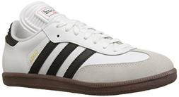 adidas Men's Samba Classic Soccer Shoe,Run White/Black/Run W