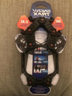 🔥Snow Trax By YakTrax L-XL Traction Cleats For Shoes Boot