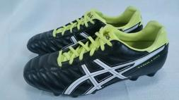 ASICS Soccer Cleats DS LIGHT TSI739 8.5 White Black Neon Gre