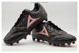 Pirma Soccer Cleats-Style 3015-Black/Red-Brasil Fortitude