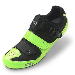 Giro Solara II Womens Road Cycling Shoes Highlight Yellow/Bl