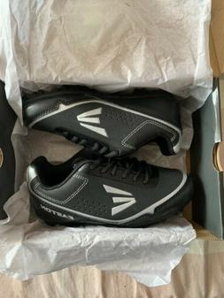 EASTON SPEED ELITE YOUTH BASEBALL CLEATS B24800 BLK/SILVER S