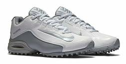 Nike SpeedLax 5 Lacrosse Turf Cleats Women's  White Silver