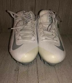 Nike Speedlax Lacrosse Womens Football Cleats Sz 7 White Gra