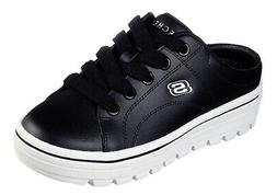 SKECHERS STREET CLEAT 2 FRESHALICIOUS BLACK 74115 BLK WOMENS