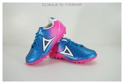 Pirma TODDLER Turf Soccer Cleats-Style 180-Blue/Pink-Supreme