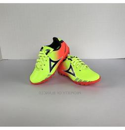 Pirma TODDLER Turf Soccer Cleats-Style 180-Neon Yellow/Orang