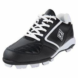 Franklin Tournament Black/White Baseball Cleat Youth 13 M US
