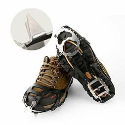 Cosyzone Traction Cleats Ice Grips Spikes for Shoe/Boots