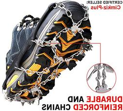 Traction Cleats Ice Snow Grips Crampons Shoes Boots Anti Sli