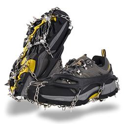 OuterStar Traction Cleats Ice Snow Grips Anti Slip 18 Stainl