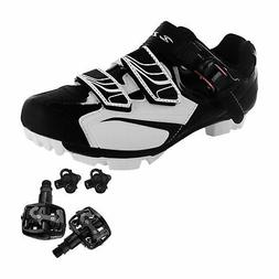 Zol Trail Plus MTB and Indoor Cycling Shoes Pedals & Cleats