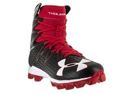 Under Armour Men's Highlight RM Football Cleat Black/Red