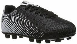 Vizari Unisex-Kids Stealth FG Size Soccer-Shoes, Black/White