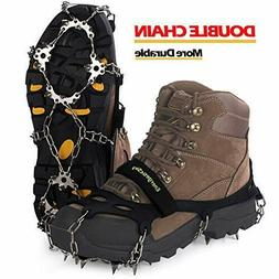 Upgraded Version Of Walk Traction Ice Cleat Spikes Crampons,