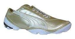 PUMA V1.08 4 Trainer Mens Soccer Boots/Cleats-Gold-9.5