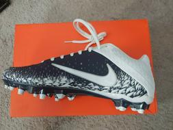 Nike Vapor Speed 2 TD Size 9.5 Blue/White Sport Cleats Mens