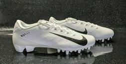 NIKE VAPOR SPEED LOW TD FOOTBALL CLEATS SIZE 11 WHITE BLACK