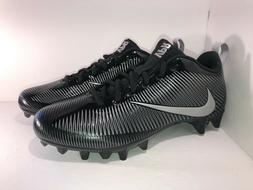 Nike Men's Vapor Strike 5 TD Football Cleat Black/Metallic S
