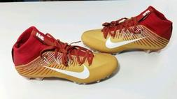 Nike Vapor Untouchable 2 Football lacrosse Cleats.  Red and