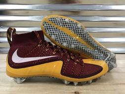 Nike Vapor Untouchable Football Cleats Maroon Red Gold #CUL8
